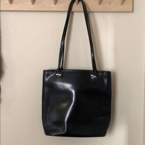 Longchamp Coated Leather Bag